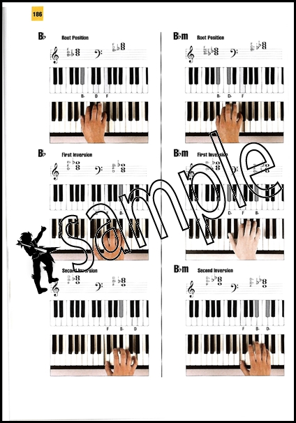 Keyboard Chords Deluxe Chord Book Full Colour Photos & Diagrams for ...