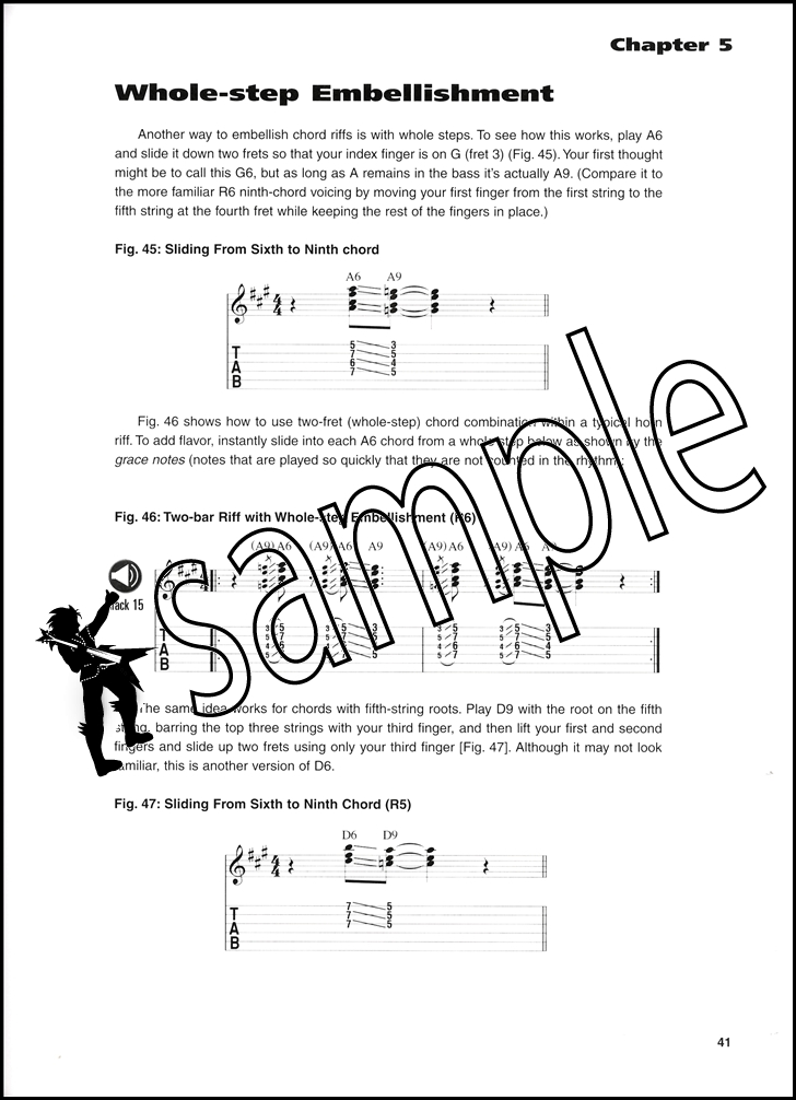 Blues Rhythm Guitar Master Class Bookaudio Hamcor
