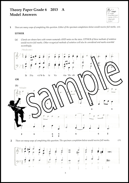 Image Result For Music Theory Past Papers Answers