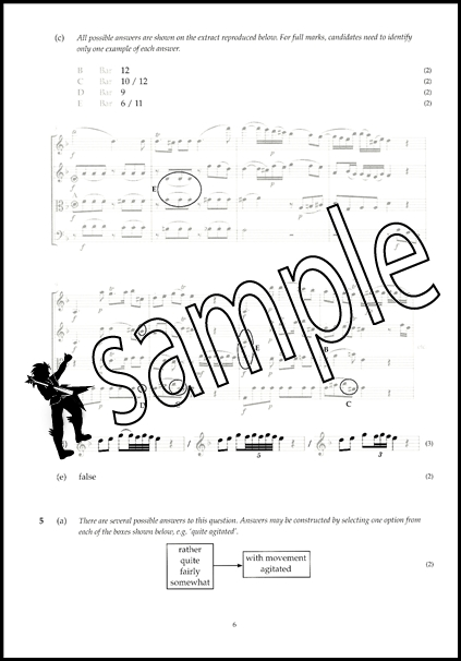 Image Result For Abrsm Music Theory Model Answers