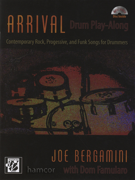 arrival drum play along music book backing tracks cd 38081472881