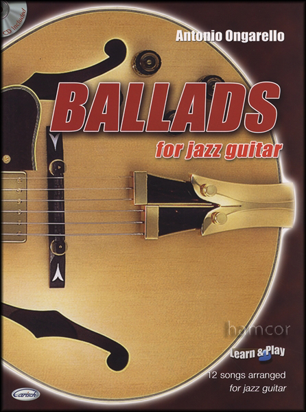 Ballads for Jazz Guitar Chord Melody Book/CD 9788850712519 | eBay
