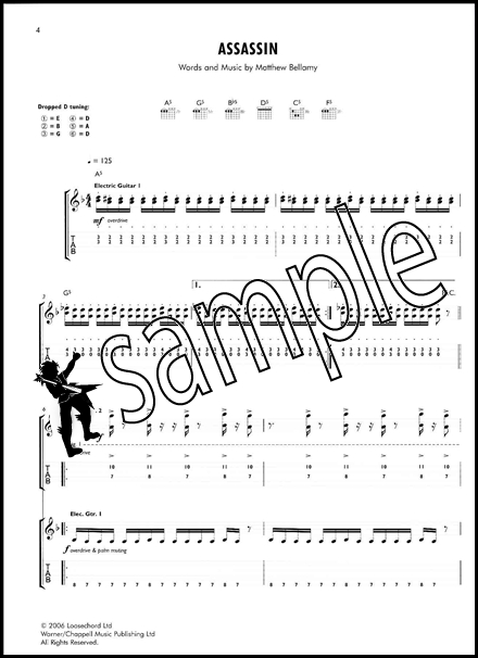 Muse The Guitar Songbook | Hamcor