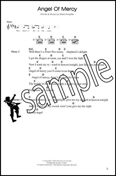 Dire Straits Complete Chord Songbook Hamcor