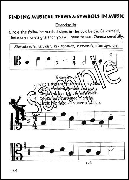 Beginner Viola Theory For Children Book 3 Hamcor