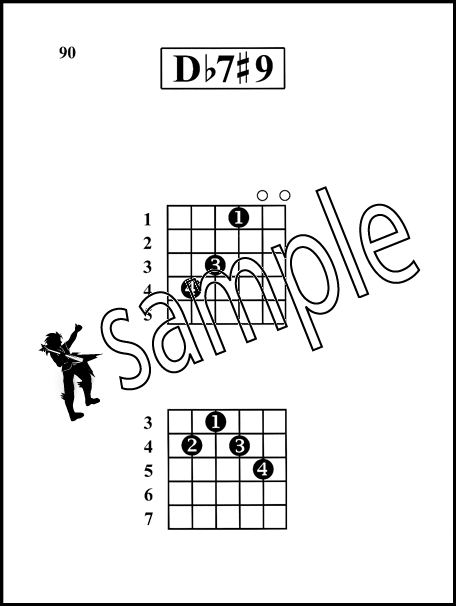 Rock Guitar Chords Made Easy Large Print Edition | Hamcor