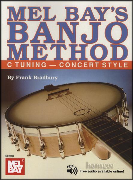 Mel Bay's Banjo Method C Tuning Concert Style | Hamcor