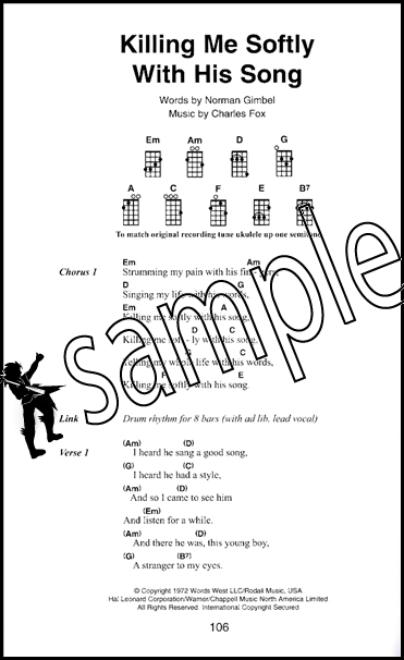 The Little Black Book Of Acoustic Songs For Ukulele Hamcor