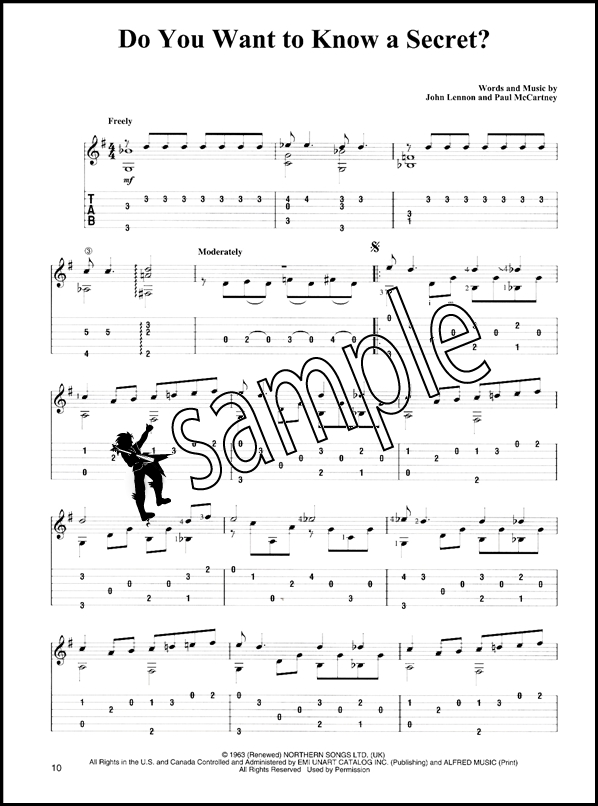 The Beatles For Easy Classical Guitar Hamcor