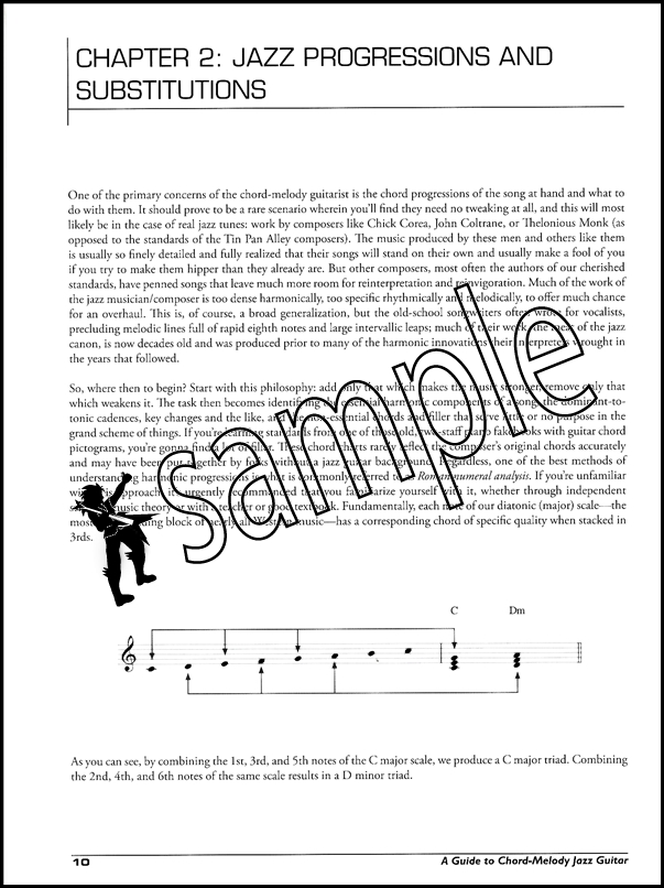 A Guide to Chord-Melody Jazz Guitar Book/CD | Hamcor