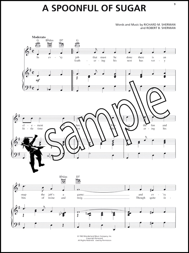 Sentinel Saving Mr Banks Piano Vocal Guitar Sheet Music Book Disney Movie Mary Poppins: Piano Music Sheets For Disney Movies At Alzheimers-prions.com