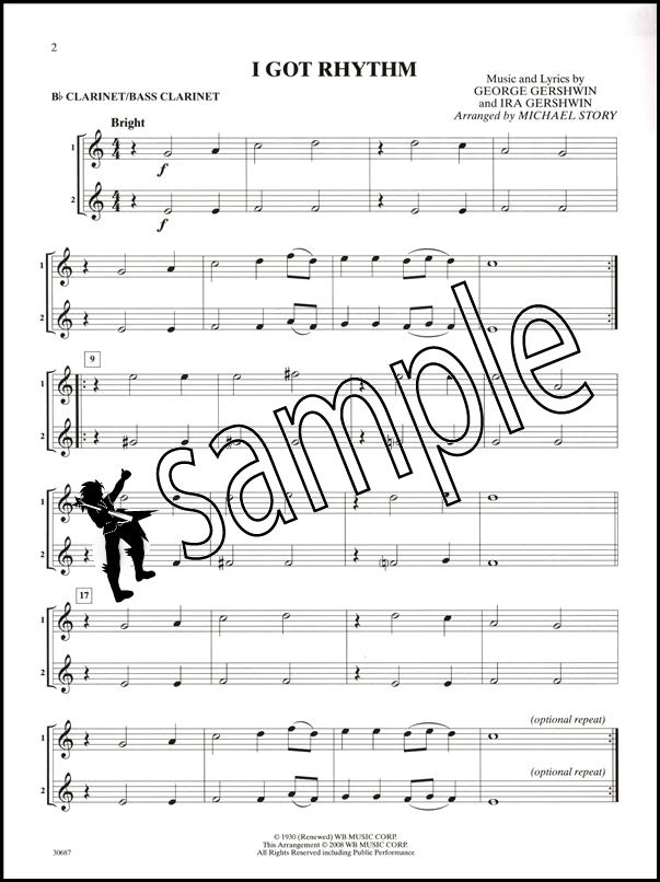 bass clarinet sheet music pdf