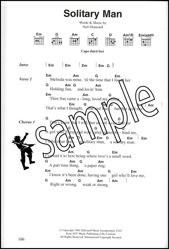 Johnny Cash Chord Songbook Guitar Chord Song Book Ebay