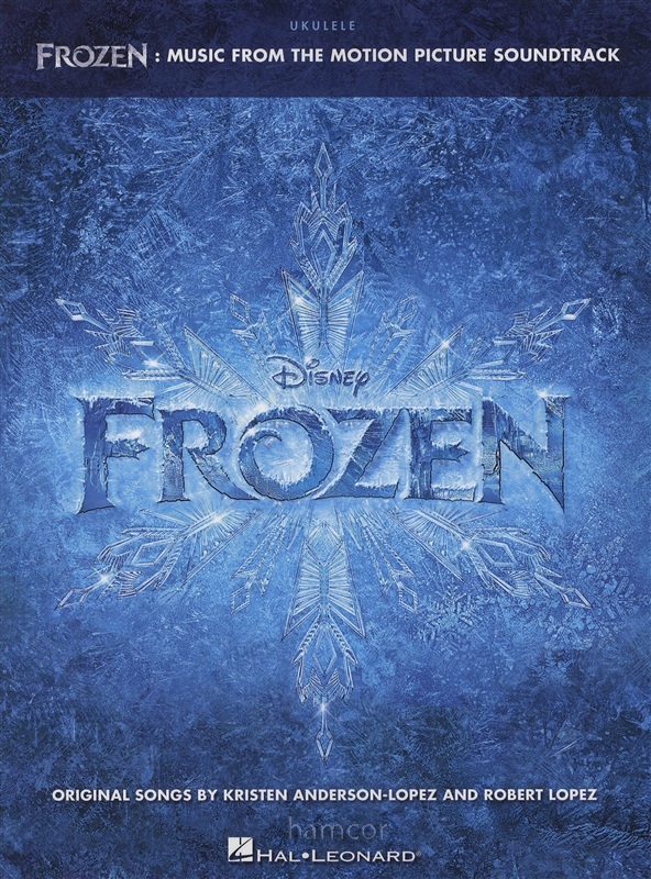 Frozen For Ukulele Chord Melody Songbook Disney Music Book