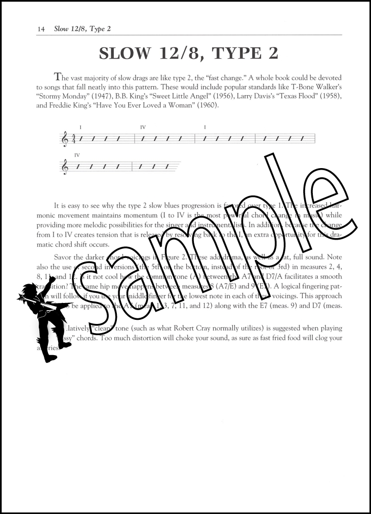 12 Bar Blues The Complete Guide For Guitar Tab Book With Audio By
