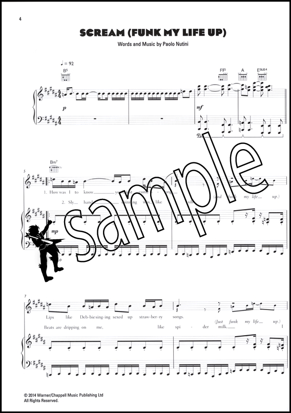 Paolo Nutini Caustic Love Piano Vocal Guitar Sheet Music Book ...