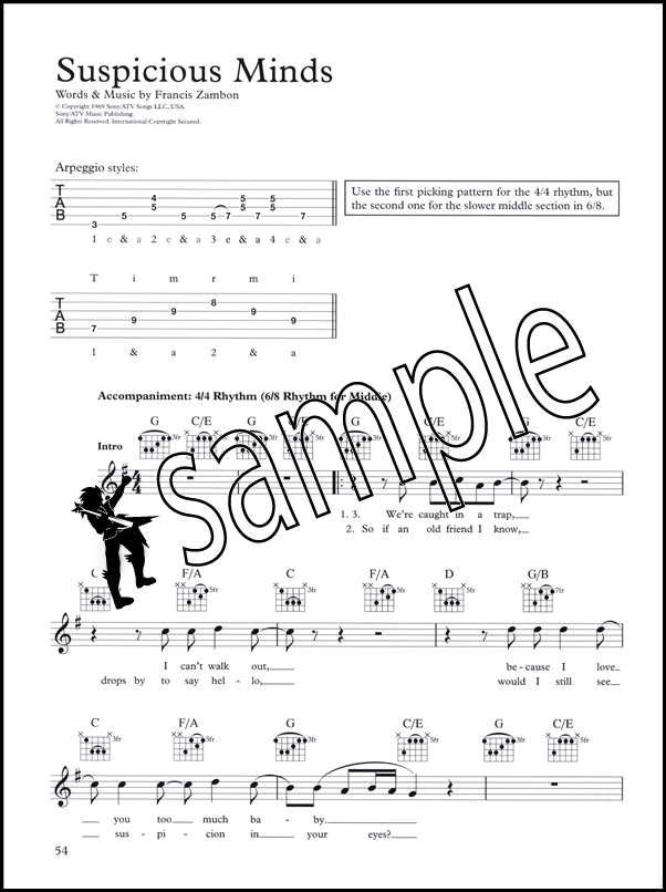 The Complete Guitar Player Songbook 2 Chord Melody Music Book Ebay