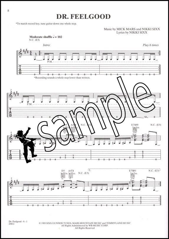 Hard Rock Hits for Easy Guitar Chord Melody Songbook with some TAB ...