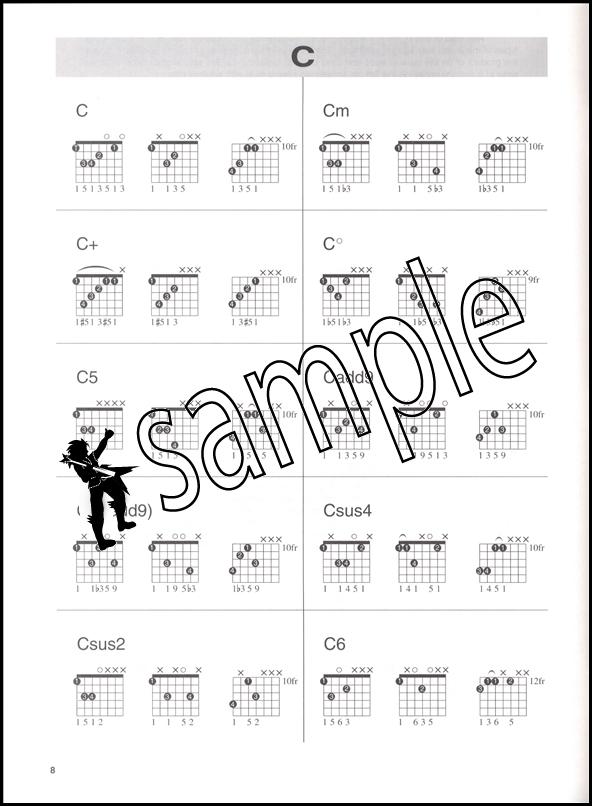 7 String Guitar Chord Book Hamcor