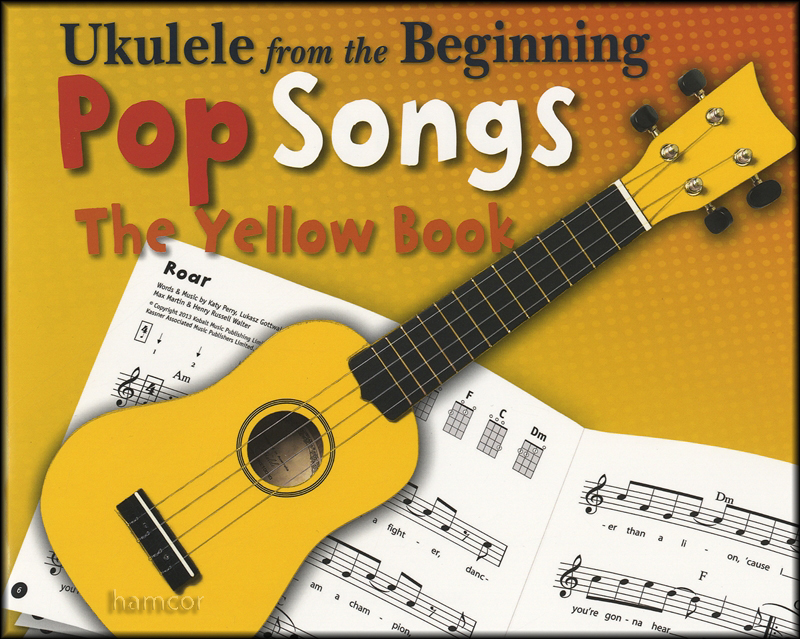 Ukulele from the Beginning Pop Songs The Yellow Book Chord Melody ...