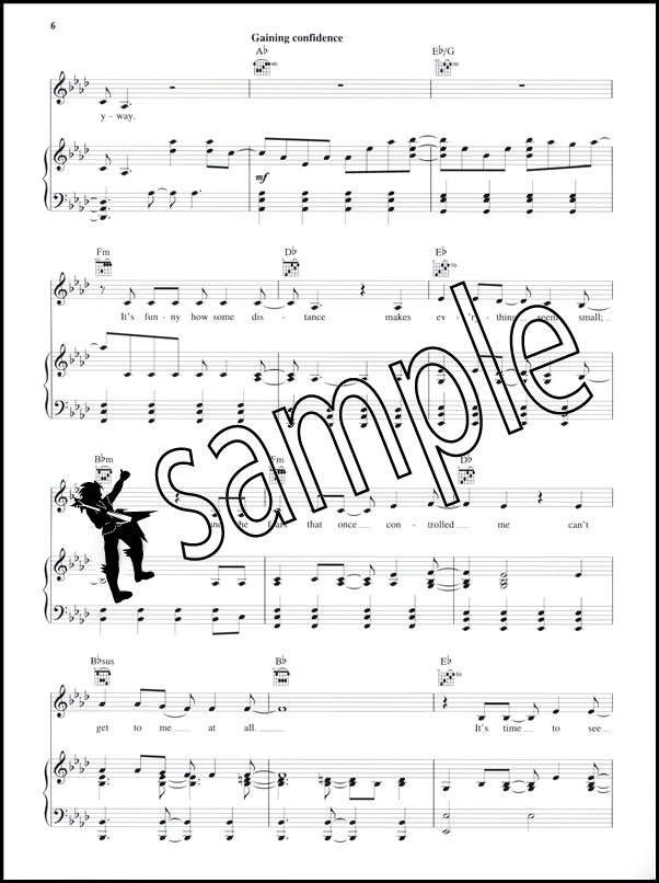 Let It Go PVG Sheet Music | Hamcor