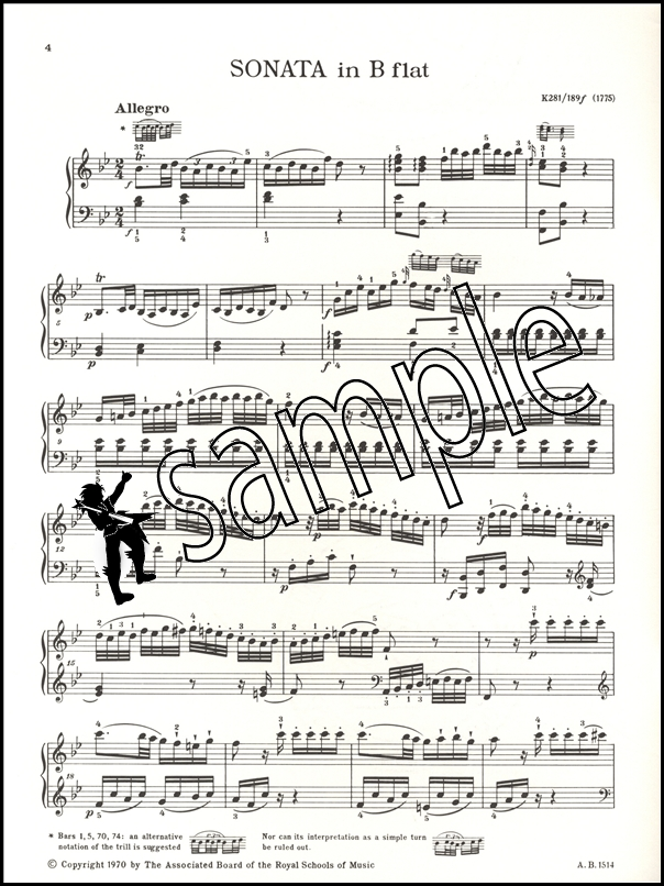 mozart sonata k 281 analysis I'm sorry but i tried to use this to help me with my homework analysis, and mozart: piano sonata in b-flat, k major k 333, iii mozart k 281.