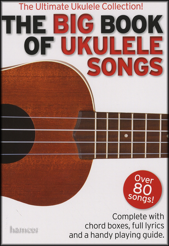The Big Book of Ukulele Songs Chord Songbook (Over 80 Songs) | eBay