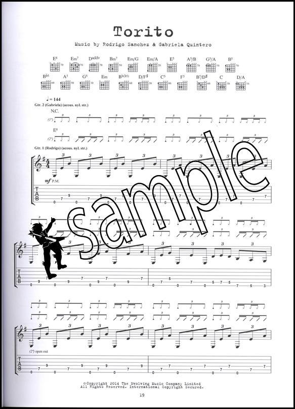 Rodrigo Y Gabriela 9 Dead Alive Guitar TAB Edition Music Book | eBay