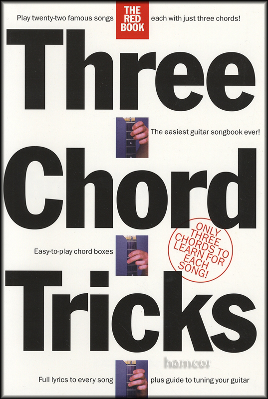 Three Chord Tricks The Red Book | Hamcor