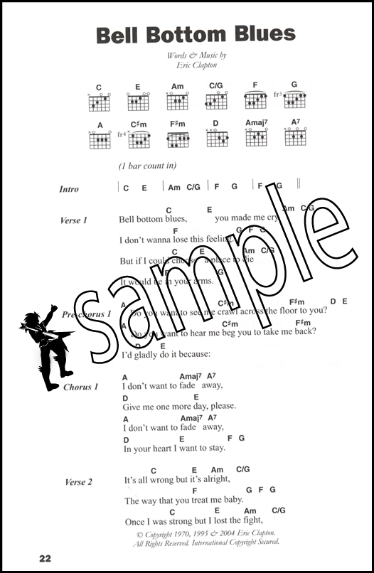 The Big Guitar Chord Songbook Blues | Hamcor
