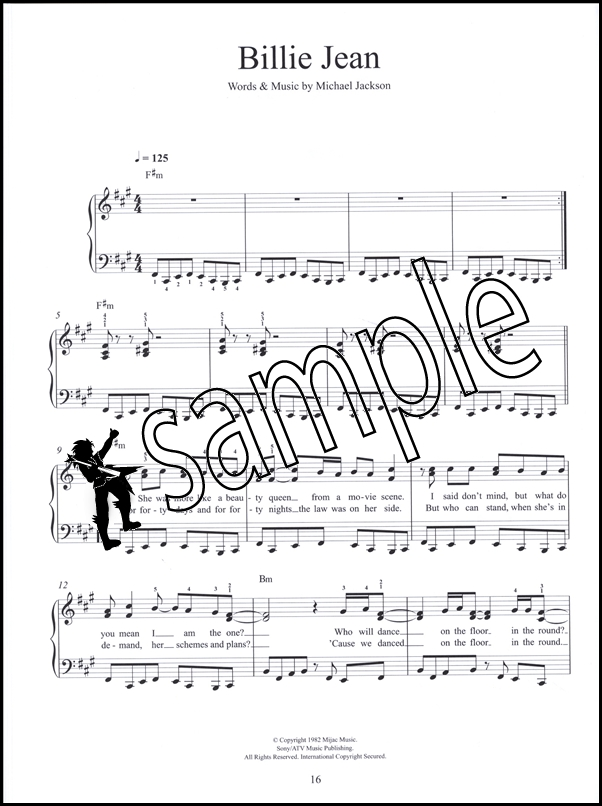 Michael Jackson Easy Piano Hamcor