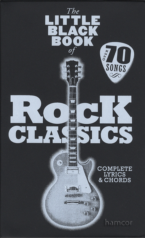 The Little Black Book of Rock Classics Guitar Chord Songbook | eBay