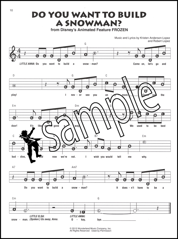 Songs from Frozen, Tangled & Enchanted Recorder Fun Sheet Music Book ...