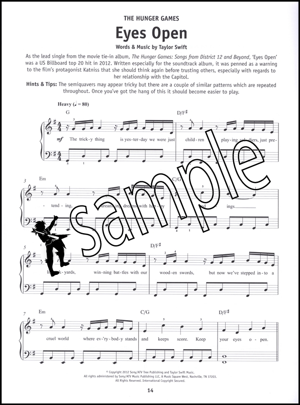 Piano easy piano blues sheet music : Really Easy Piano Songs from the Movies Sheet Music Book Film ...