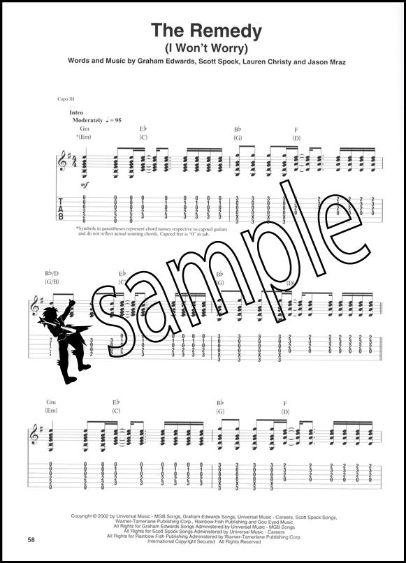 Jason Mraz Guitar Play-Along Book/CD | Hamcor