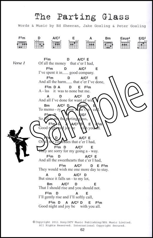 Ed Sheeran Guitar Chord Songbook | Hamcor