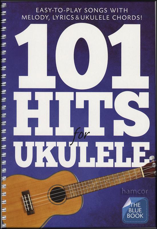 101 Hits for Ukulele The Blue Book | Hamcor