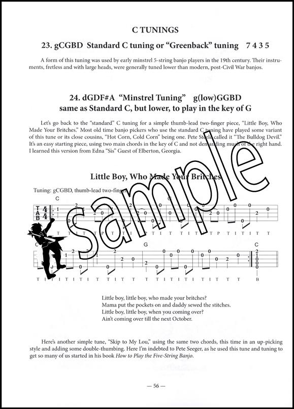 Art Rosenbaums Old Time Banjo Book 5 String Banjo Tab Music Book