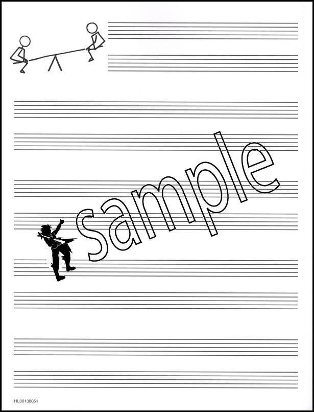 A Dozen A Day Music Staff Paper | Hamcor