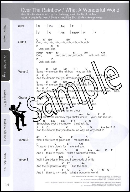Justinguitar Ukulele Songbook Chord Songbook With Performance