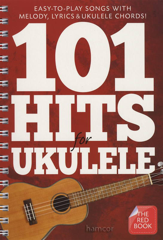 101 Hits For Ukulele The Red Book Chord Melody Songbook Ebay