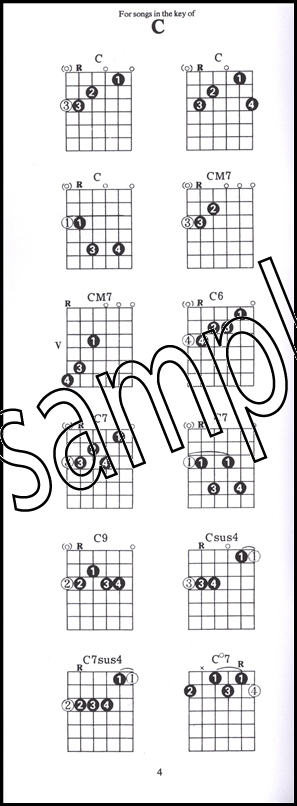 Guitar Case Chord Book | Hamcor