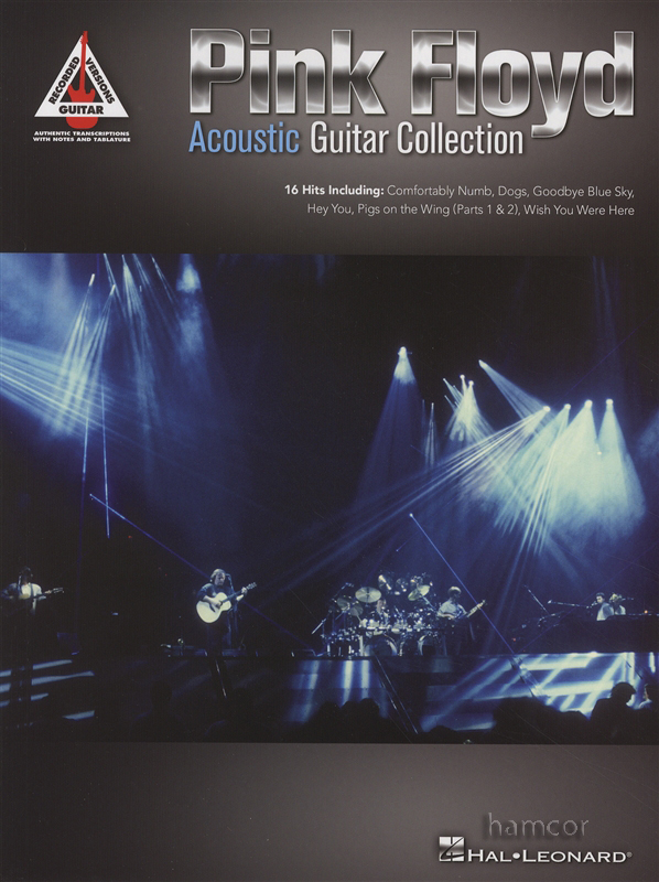 pink floyd acoustic guitar collection recorded versions tab music book unplugged ebay. Black Bedroom Furniture Sets. Home Design Ideas