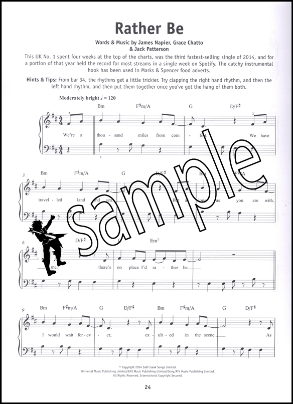 Really Easy Piano Ultimate Chart Hits Pop Music Book Uptown Funk ...