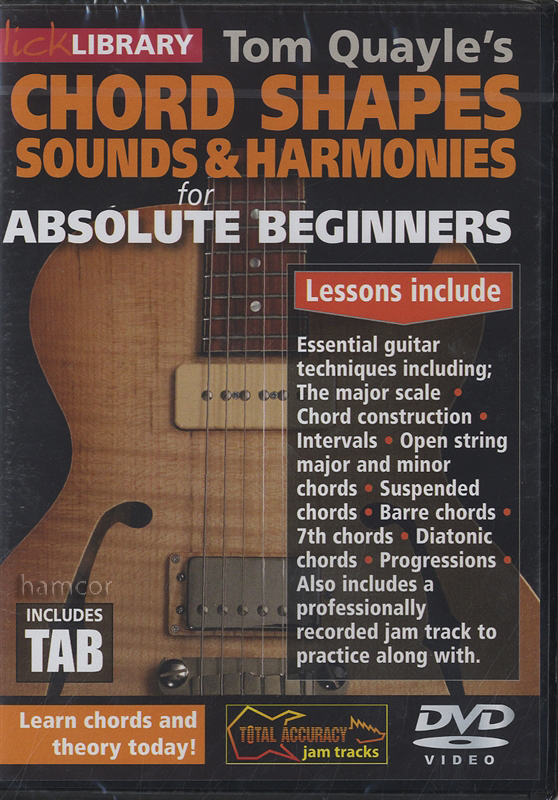 Chord Shapes for Absolute Beginners DVD | Hamcor