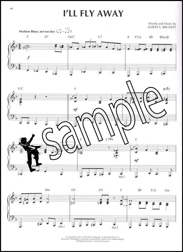 Sentinel Gospel Jazz Piano Solos Volume 33 Sheet Music Book: African American Gospel Sheet Music At Alzheimers-prions.com