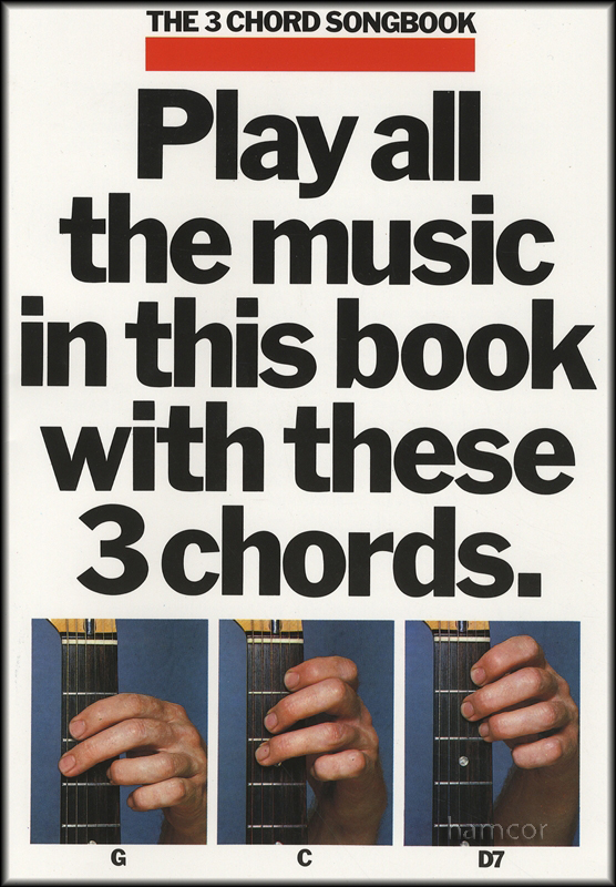 The 3 Chord Songbook Book 1 Guitar Music Song Book Ebay