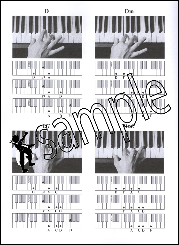 The Pianists Picture Chords Piano Chord Book Guide To Useful Chords