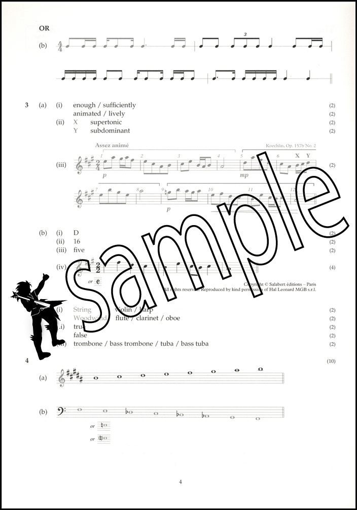 Abrsm past papers grade 4 pdf