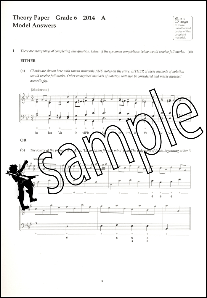 Image Result For Answers To Music Theory In Practice Grade